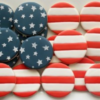 US Flag Cookies