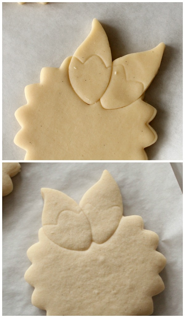 flower with leaves cookie 4
