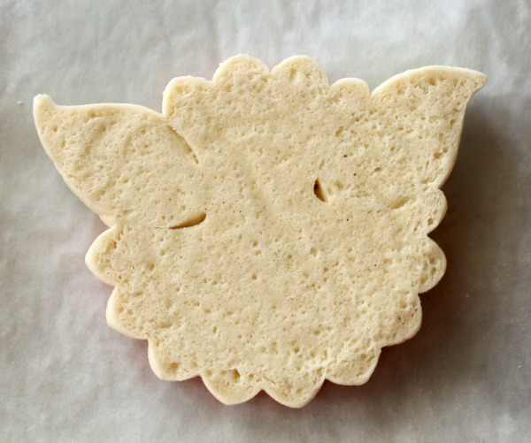 flower with leaves cookie 5