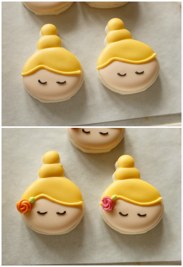 Bowing Ballerina Cookies