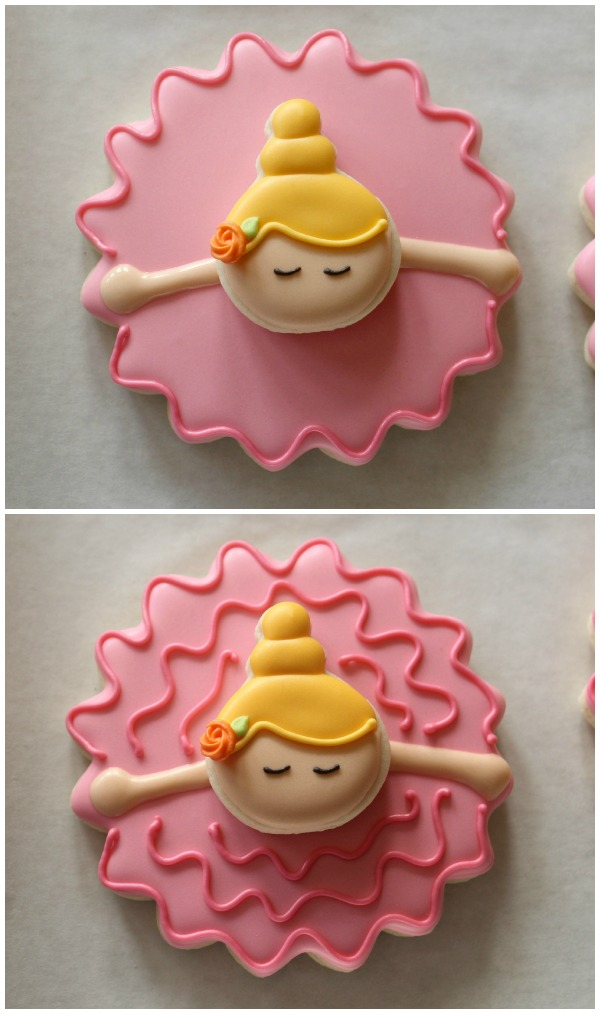 Bowing Ballerina Cookies 2