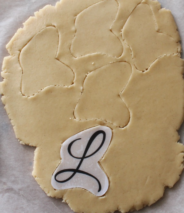 Custom Monogram Cookie