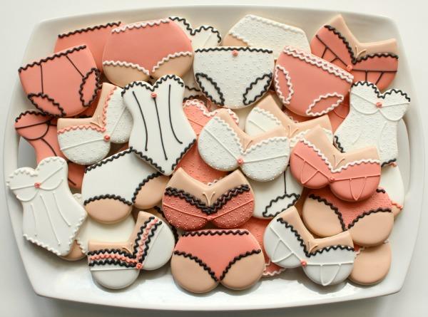 Lingerie Cookie Platter