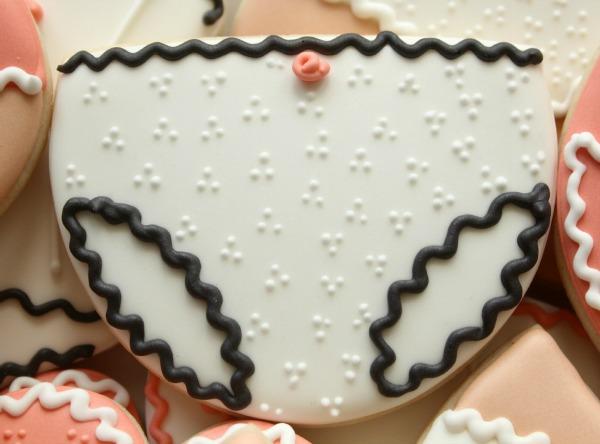 Panties Cookies