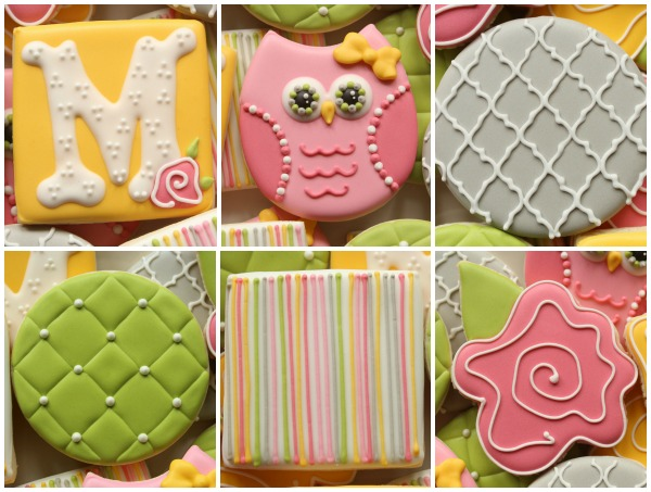 Quilted Owl Cookie Collection