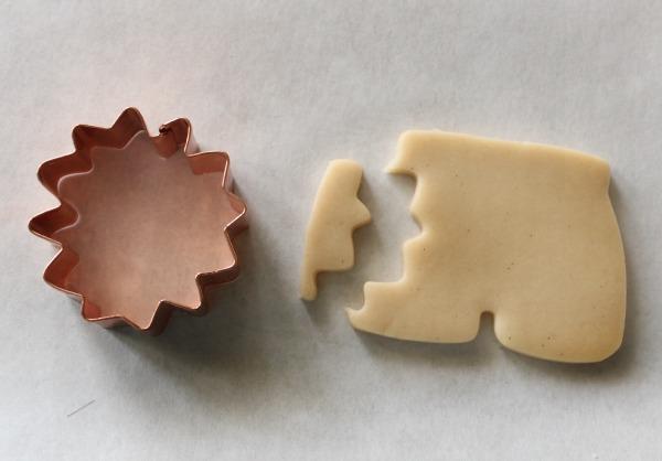 Shark-Bitten Shorts Cookie