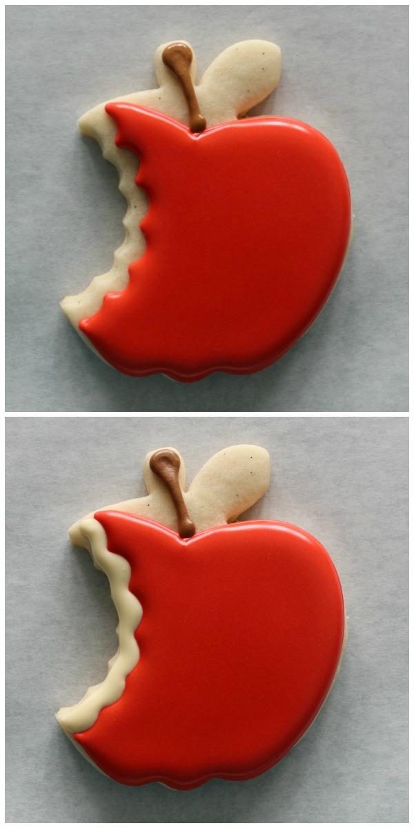 Bitten Apple Cookies Cookieologyblog3