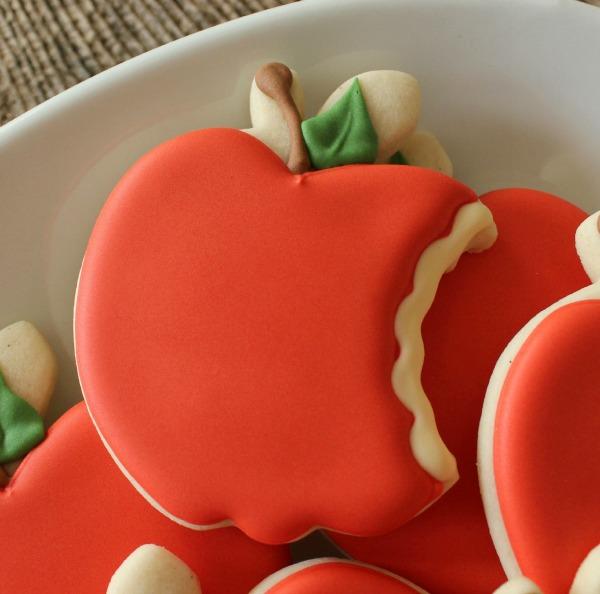 Bitten Apple Cookies