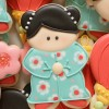 China or Kokeshi Doll Cookie