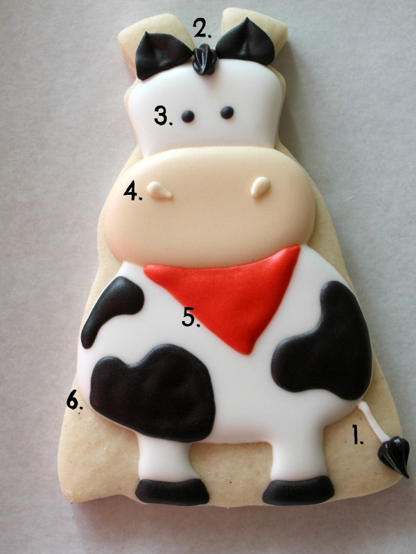 Cow Cookie 4