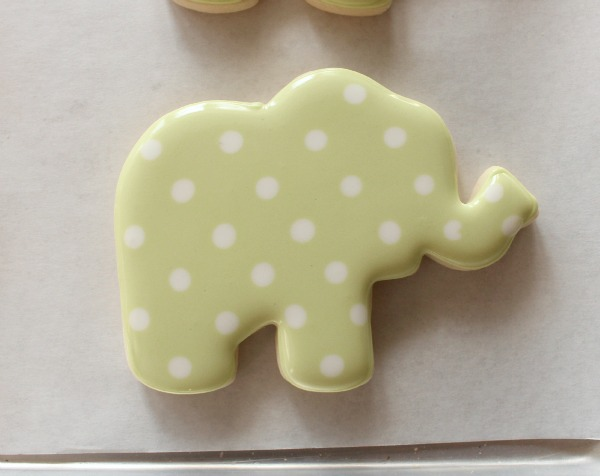Decorated Elephant Cookie 2