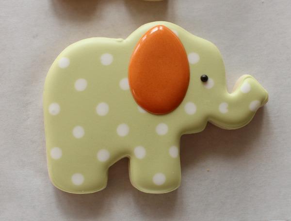 Decorated Elephant Cookie 4