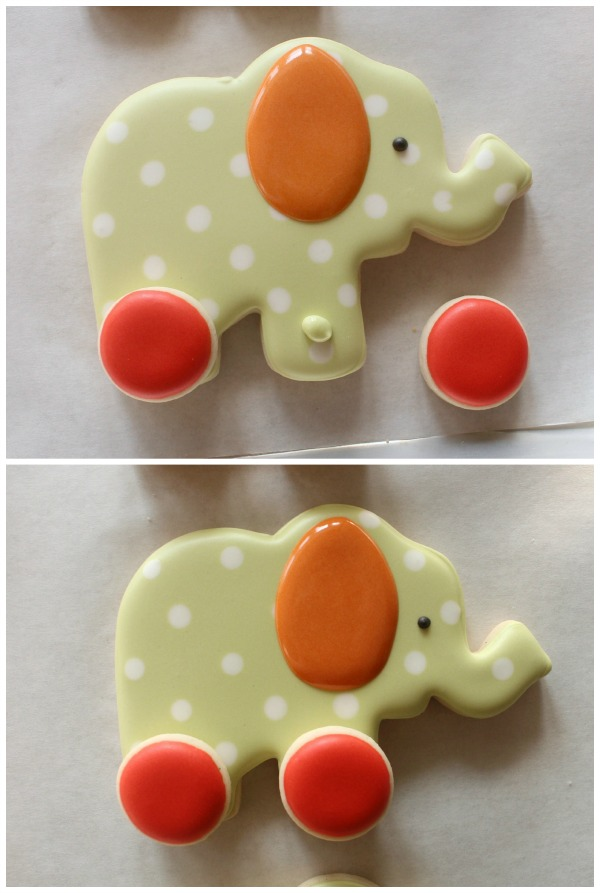 Decorated Elephant Cookie 5