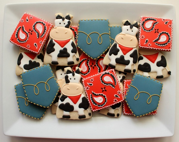 Farm Cookie Platter
