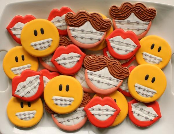 Funny Othodontist Cookies