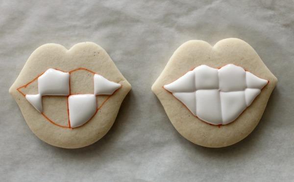 Funny Teeth Cookies