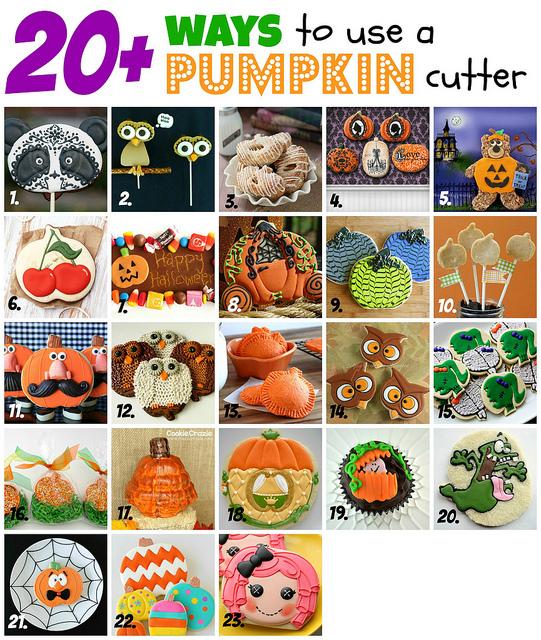 20 Ways To Use a Pumpkin Cookie Cutter