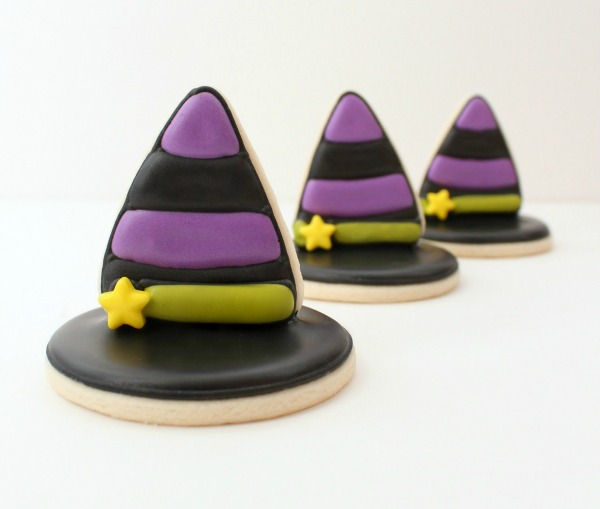 3-D Witch Hat Cookies