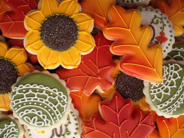 Easy Autumn Leaves Cookies