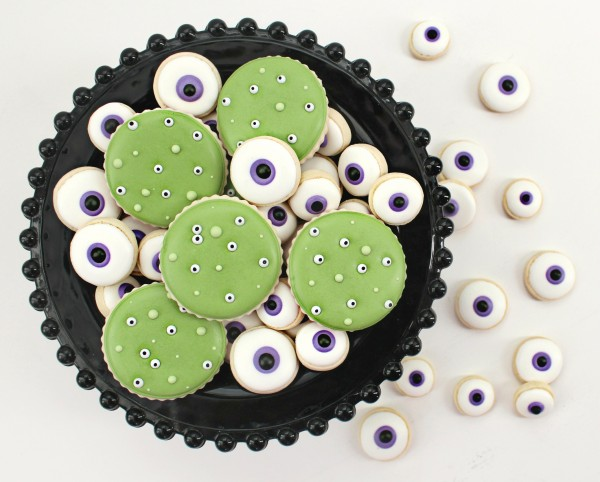 Easy Eyeball Cookies