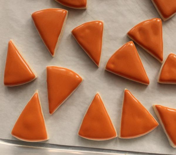 Mini-Pumpkin Pie Slice Cookies 2
