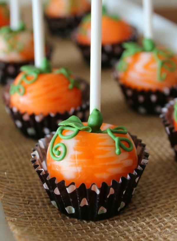 Pumpkin Lolly Pops
