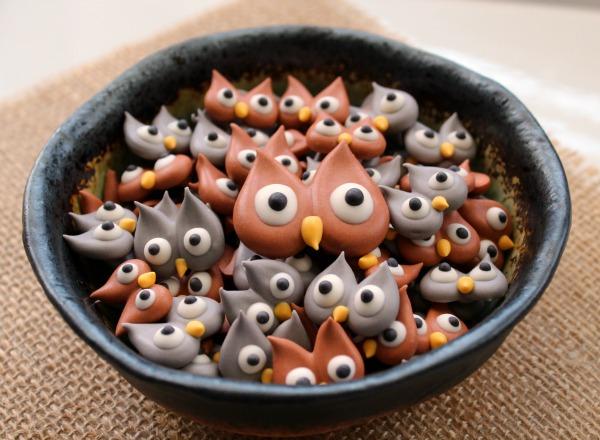 Royal-Icing-Owls