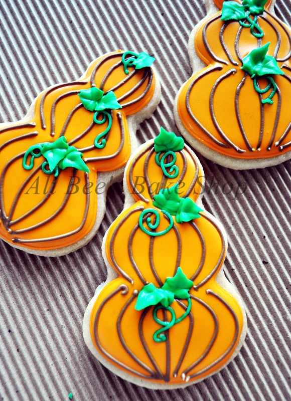 Stacked Pumpkin Cookies Ali-Bees Bake Shop