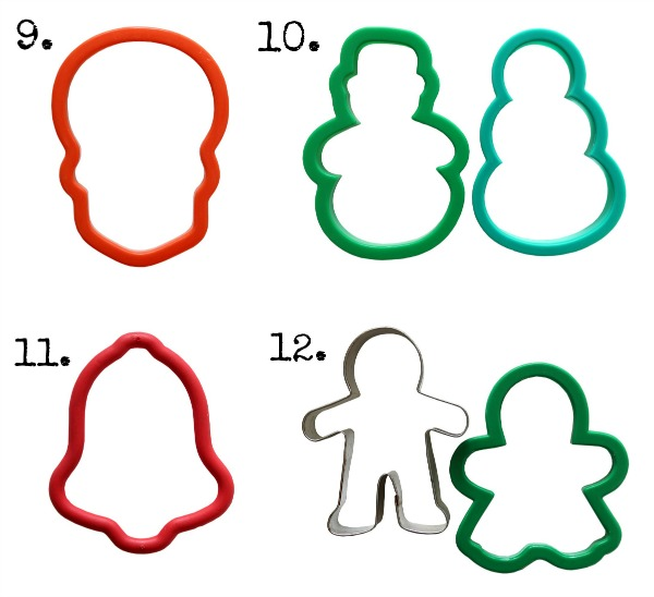 20 Most Useful Cookie Cutters via SugarBelle