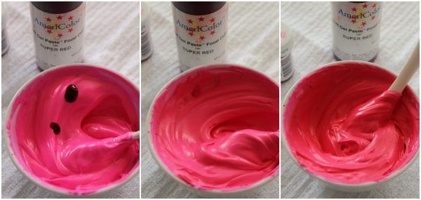 Deep Pink, Magenta, Hot Pink and Fuchsia Royal Icing - The ...