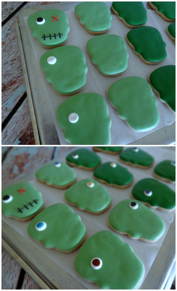 Easy Zombie Cookies