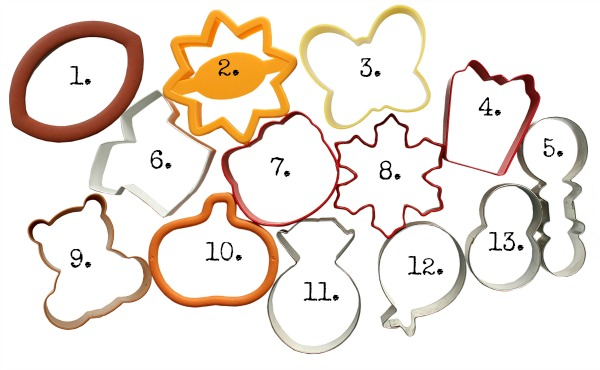 More Practical Cookie Cutters