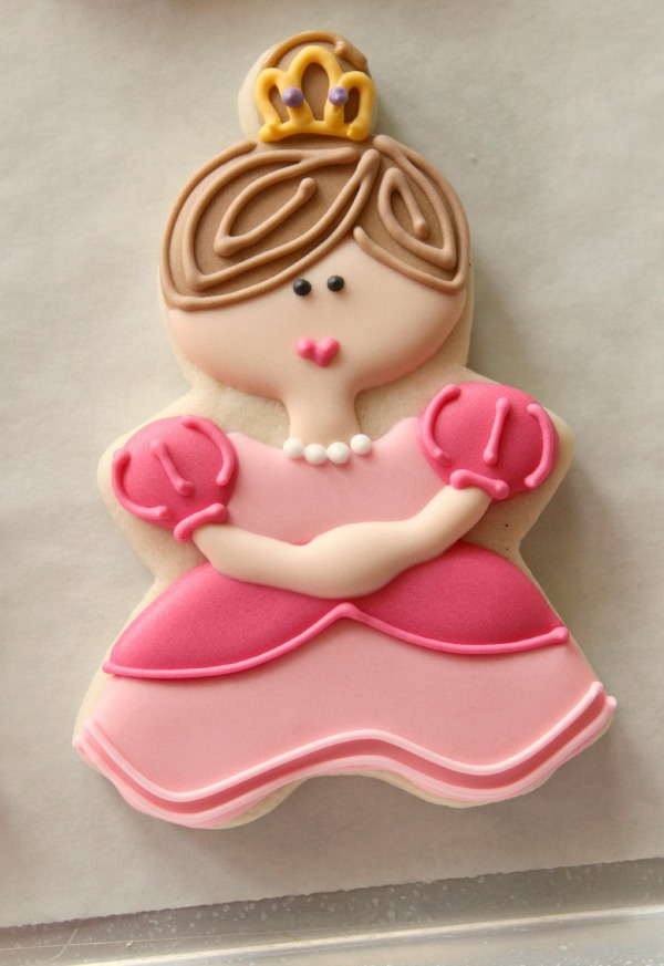 Decorated Princess Cookies The Sweet Adventures Of Sugar