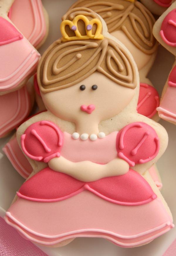 Princess Cookie Close