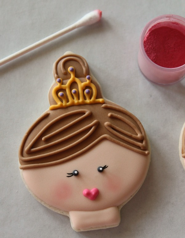 Princess Face Cookie 6