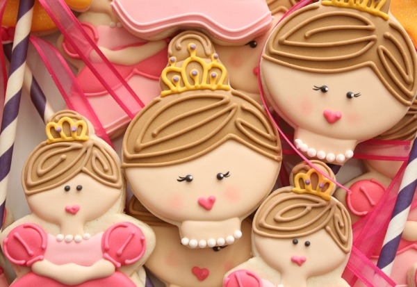 Princess Face Cookie