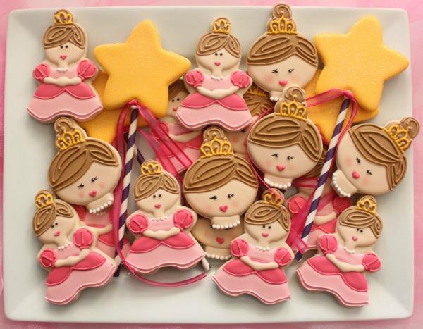 Princess Theme Cookie Platter