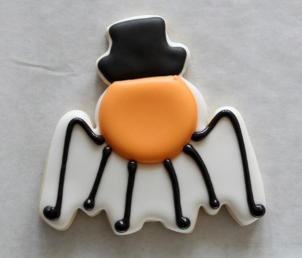 Silly Spider Cookie Tutorial 4