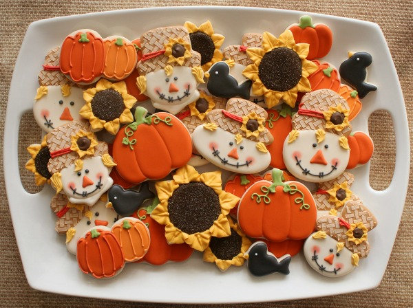 Autumn Cookie Platter