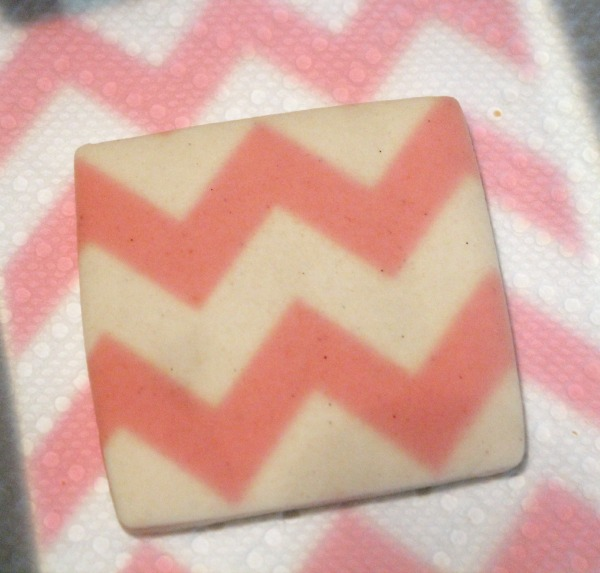 Chevron Print Cookie 1