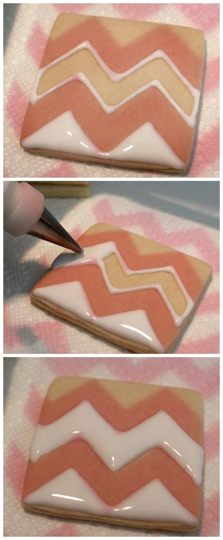 Chevron Print Cookie 2