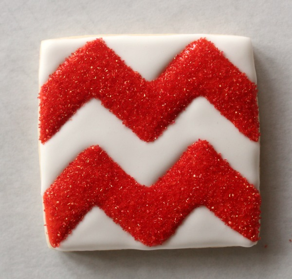 Chevron Print Cookie 5