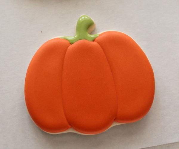 Decorated Pumpkin Cookies 2