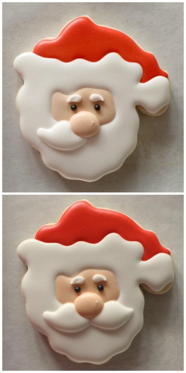 Decorated Santa Cookie 3