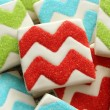 How to Make Chevron Cookies Sweetsugarbelle