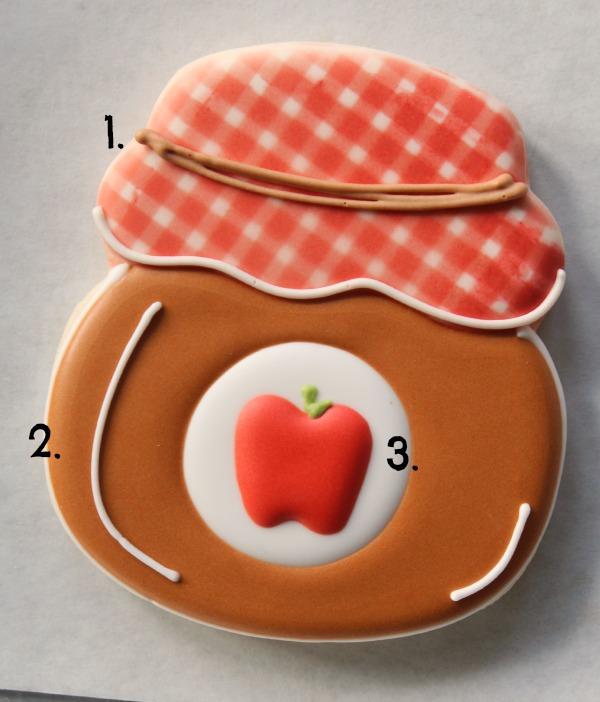 Jelly Jar Cookie Tutorial The Sweet Adventures of SugarBelle 8