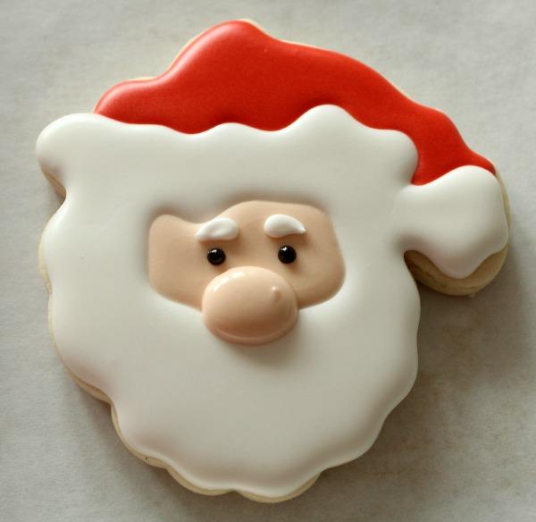Decorated Santa Cookies The Sweet Adventures Of Sugar Belle