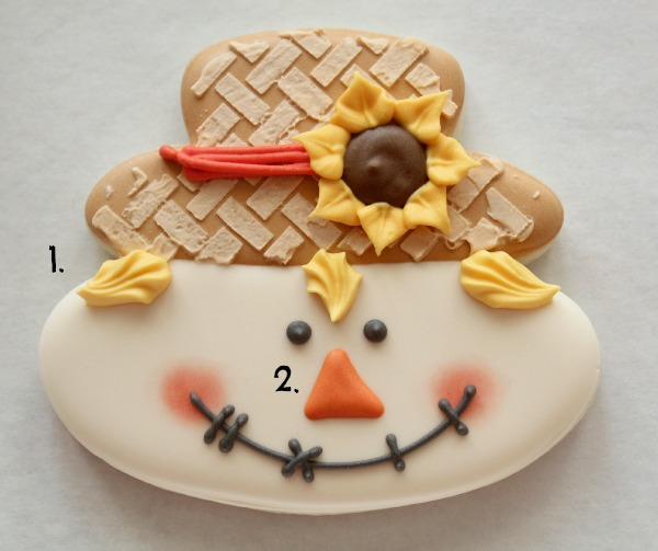 Scarecrow Face Cookie 7