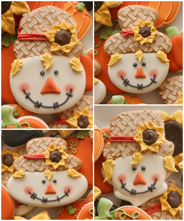 Scarecrow Face Cookie 8