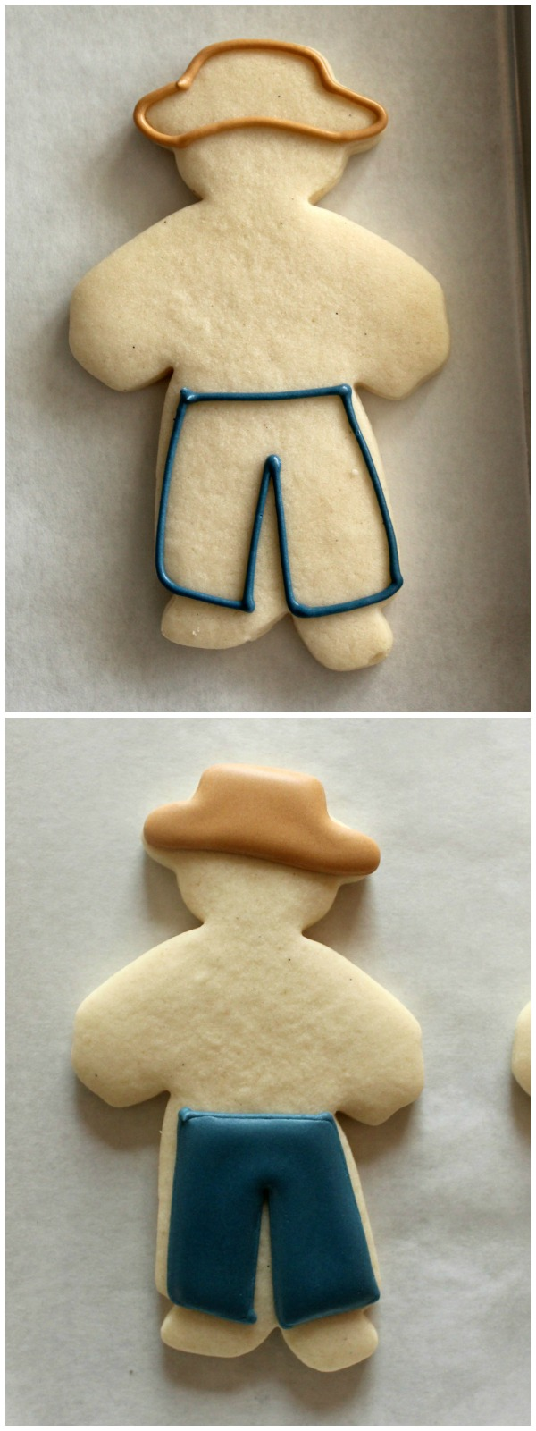 Standing Scarecrow Cookie 1